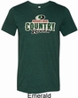 Mens Mossy Oak Country Roots Tri Blend Crewneck Shirt