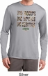 Mens Mossy Oak No Boots No Spurs No Service Dry Wicking Long Sleeve