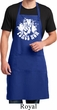 Mens Peace Apron Peace Now Full Length Apron with Pockets