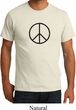 Mens Peace Shirt Basic Peace Black Organic Tee T-Shirt