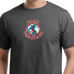Mens Peace Shirt Come Together Organic Tee T-Shirt