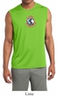 Mens Peace Shirt Come Together Sleeveless Moisture Wicking Tee T-Shirt