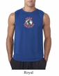 Mens Peace Shirt Come Together Sleeveless Tee T-Shirt