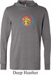 Mens Peace Shirt Psychedelic Peace Lightweight Hoodie Tee
