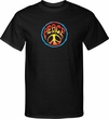 Mens Peace Shirt Psychedelic Peace Tall Tee T-Shirt