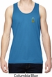 Mens Pineapple Patch Pocket Print Moisture Wicking Tank Top
