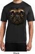 Mens Pug Shirt Big Pug Face Moisture Wicking Tee T-Shirt