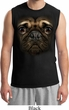 Mens Pug Shirt Big Pug Face Muscle Tee T-Shirt