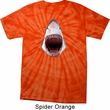 Mens Shark Shirt 3D Shark Spider Tie Dye Tee T-shirt
