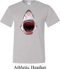 Mens Shark Shirt 3D Shark Tall Tee T-Shirt