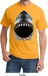Mens Shark Shirt Big Shark Face Tee T-Shirt