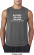 Mens Shirt Alcohol Tobacco Firearms ATF Sleeveless Tee T-Shirt