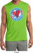 Mens Shirt All You Need is Love Sleeveless Moisture Wicking T-Shirt