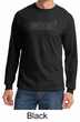 Mens Shirt Awesome Cubed Long Sleeve Tee T-Shirt