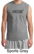 Mens Shirt Awesome Cubed Muscle Tee T-Shirt