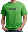 Mens Shirt Awesome Cubed Organic Tee T-Shirt