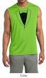 Mens Shirt Basic Black Tuxedo Sleeveless Moisture Wicking Tee T-Shirt