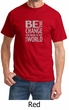 Mens Shirt Be The Change Tee T-Shirt