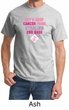 Mens Shirt Breast Cancer Awareness Second 2nd Base Tee T-Shirt