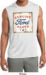 Mens Shirt Distressed Ford Parts Sleeveless Moisture Wicking Tee