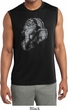 Mens Shirt Ganesha Profile Sleeveless Moisture Wicking Tee T-Shirt