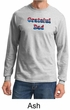 Mens Shirt Grateful American Dad Long Sleeve Tee T-Shirt