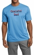 Mens Shirt Grateful American Dad Moisture Wicking Tee T-Shirt