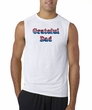 Mens Shirt Grateful American Dad Sleeveless Tee T-Shirt