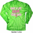 Mens Shirt Grope Your Wife Long Sleeve Tie Dye Tee T-shirt