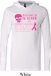 Mens Shirt Halloween Scary Breast Cancer Deadly Lightweight Hoodie Tee