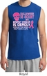 Mens Shirt Halloween Scary Breast Cancer Deadly Muscle Tee T-Shirt