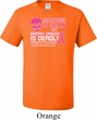 Mens Shirt Halloween Scary Breast Cancer Deadly Tall Tee T-Shirt