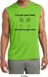 Mens Shirt I've Got Your Back Sleeveless Moisture Wicking Tee T-Shirt