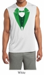 Mens Shirt Irish Tuxedo Sleeveless Moisture Wicking Tee T-Shirt