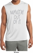 Mens Shirt Namastay Out Of It Sleeveless Moisture Wicking Tee T-Shirt