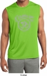Mens Shirt Namaste Om Sleeveless Moisture Wicking Tee