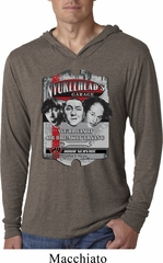 Mens Shirt Nyukleheads Garage Lightweight Hoodie Tee T-Shirt