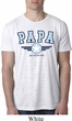 Mens Shirt Papa Burnout Tee T-Shirt