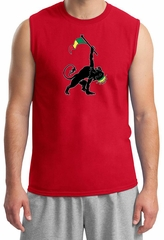Mens Shirt Rasta Triangle Muscle Tee T-Shirt