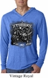 Mens Shirt Stooges Bike Week Lightweight Hoodie Tee T-Shirt