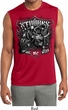 Mens Shirt Stooges Bike Week Sleeveless Moisture Wicking Tee T-Shirt