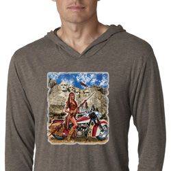 Mens Shirt Sturgis Indian Lightweight Hoodie Tee T-Shirt