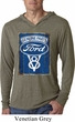 Mens Shirt V8 Genuine Ford Parts Lightweight Hoodie Tee T-Shirt