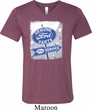 Mens Shirt Vintage Sign Genuine Ford Parts Tri Blend V-neck Tee