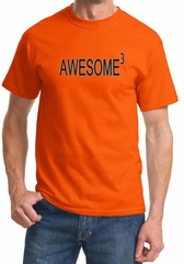 Mens Shirts Awesome Cubed Tee T-Shirt