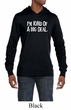 Mens Shirts Kind of a Big Deal White Print Lightweight Hoodie Tee