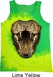 Mens Snake Tanktop Big Cobra Snake Face Tie Dye Tank Top