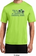 Mens St Patrick's Shirt Official Drinking Shirt Moisture Wicking Tee