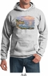Mens Sunset Hoodie Sunset at Lighthouse Point Hoody