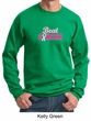 Mens Sweatshirt Breast Cancer Awareness Beat Cancer Sweat Shirt